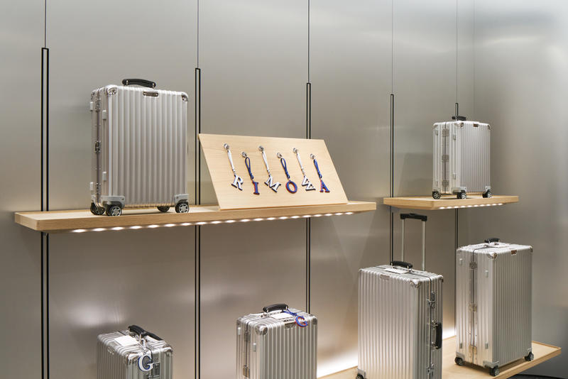Rimowa japan flagship store opening event japanese