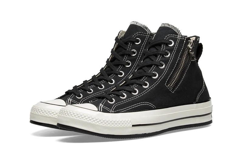 RIRI Zipper Converse Chuck Taylor All Star '70 Release Info Brown Leather Sand Suede Black Canvas
