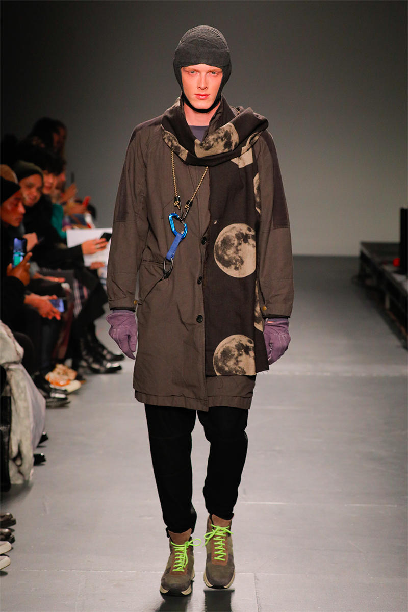 Robert Geller Fall Winter 2019 NYFW Show Runway Mens New York Fashion Week lululemon common projects shoes