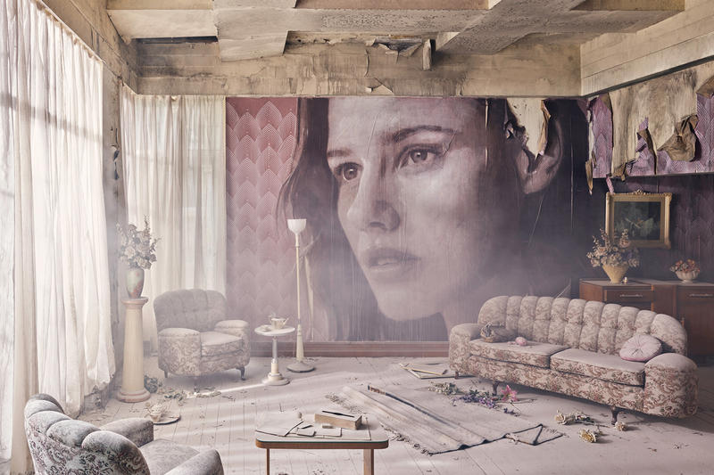 rone empire installation sherbrooke australia abandoned mansion johnny cash hurt artworks murals portraits paintings