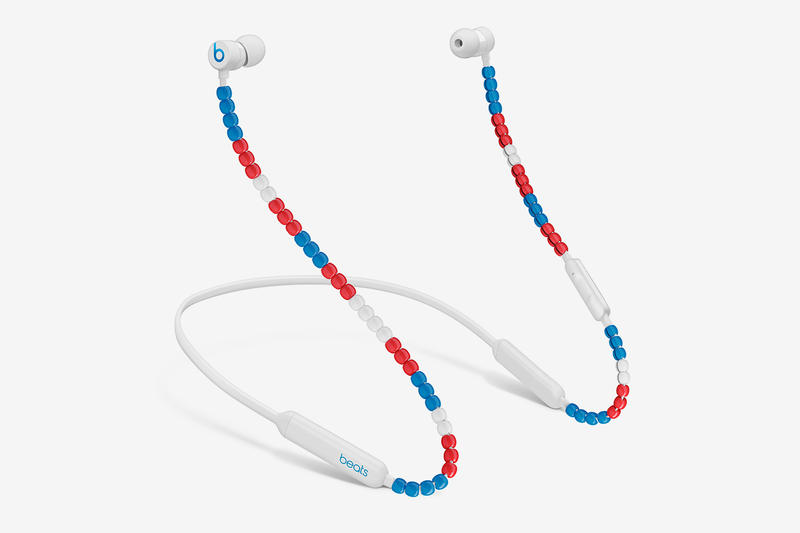 sacai Beats By Dre BeatsX wireless earphones Release Date Announcement interview Chitose Abe Luke Wood Red White Blue Black Fall Winter 2019 Burned Red Deep White True Black Wireless
