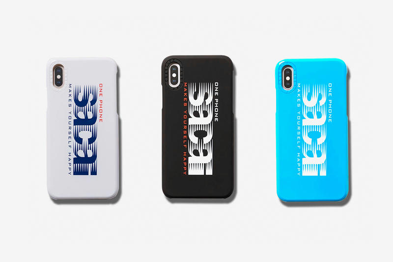 sacai CASETiFY Bonjour sacai iPhone Case Another Closer Look white black blue chitose Abe Pop up Frisk Mints yellow orange pink