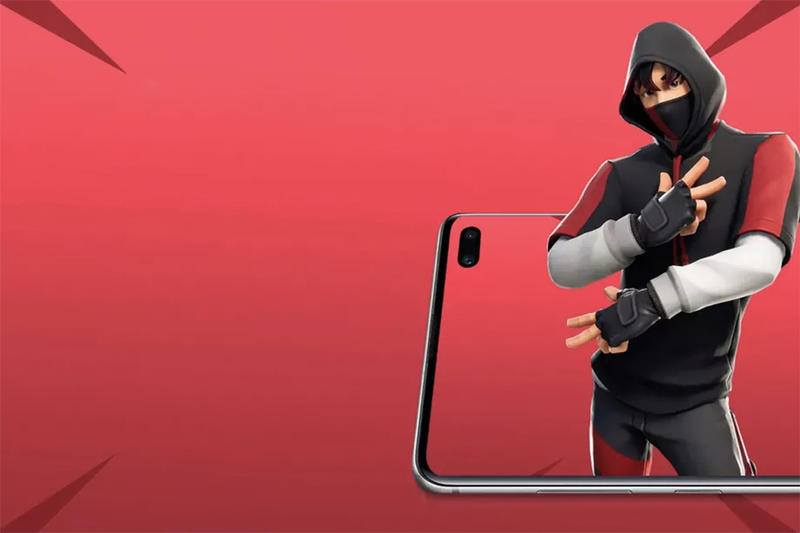 Fortnite K-Pop Skin Rare How To Get Jungwoo Chan iKon Samsung Galaxy S10+ Exclusive