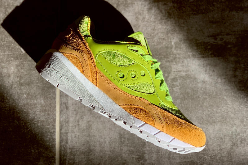 "Saucony Joins in on Healthy Food Craze With Shadow 6000 ""Avocado Toast"" green brown red info release drop date price images footwear"