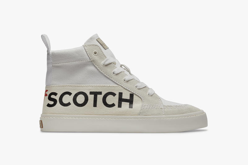 Scotch & Soda SS19 Footwear Collection Skate Shoe Chunky Sneakers Pumps