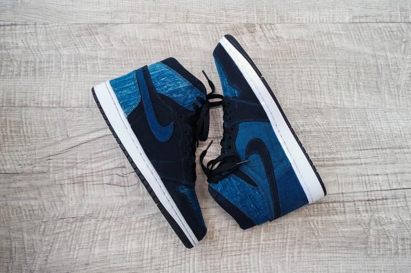 Simple Union Nike Air Jordan 1 Denim Custom jeans blue hand crafted