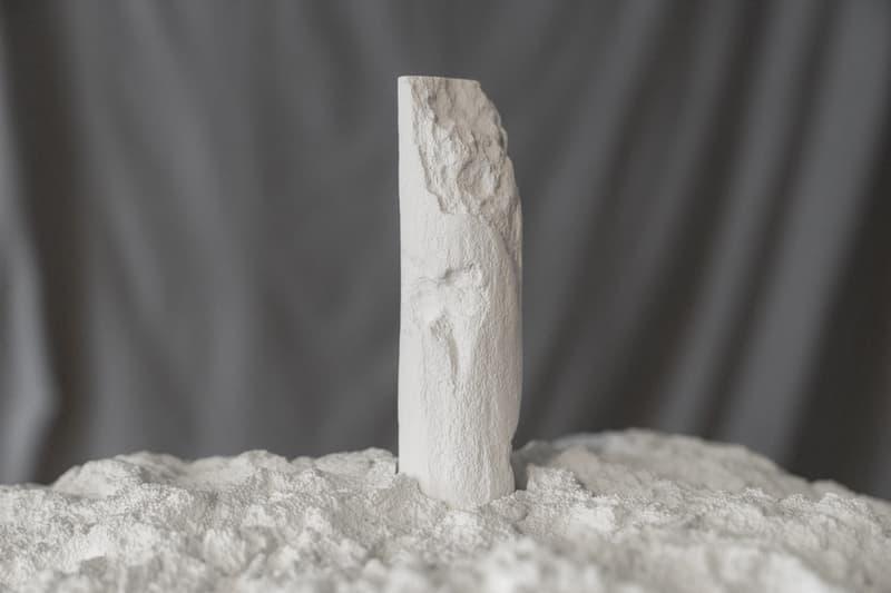 snark park totem sculpture daniel arsham kith soho ronnie fieg