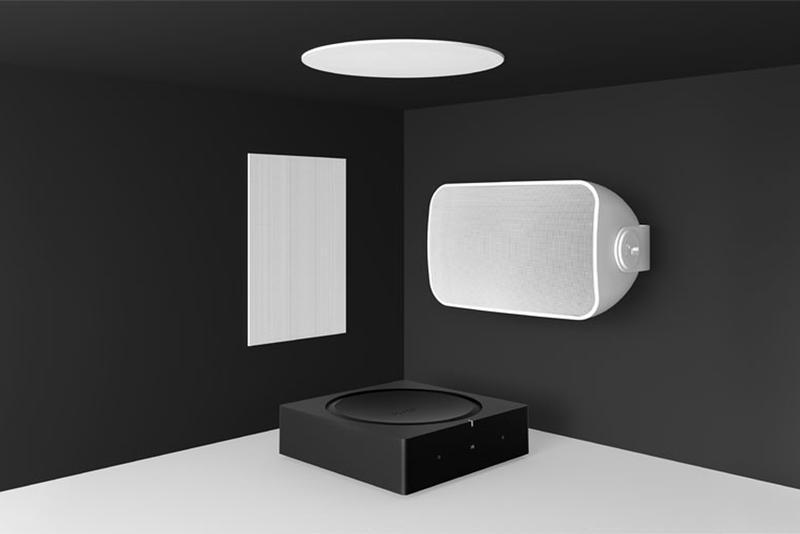 Sonos sonance architectural speakers indoor outdoor speaker