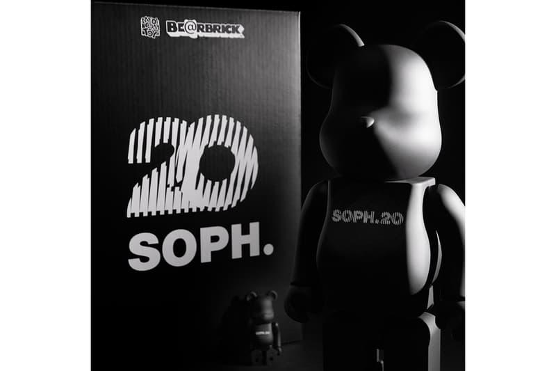 Sophnet 20 Year Anniversary IT Hong Kong ITHK FCReal Bristol Bearbricks Hiroshi Fujiwara New Era Cap