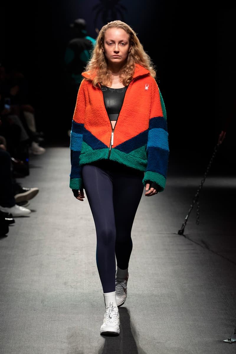 Spyder Debuts Fall/Winter 2019 Collection Sleek Tech-wear Retro-Inspired Streetwear tracksuits fleece sweatshirts oversized puffers 90s