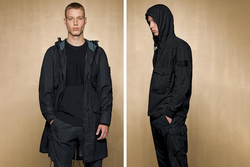 stone island spring summer 2019 ghost collection lookbook images