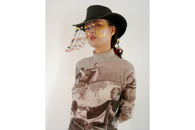 Sundae School Fall/Winter 2019 Lookbook smoking collection Korean brand americana cowboy flame denim jacket western style inspiration release info stockist price
