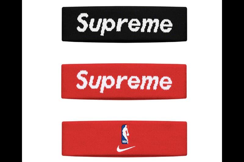 Supreme Spring/Summer 2019 Accessories NBA Headbands