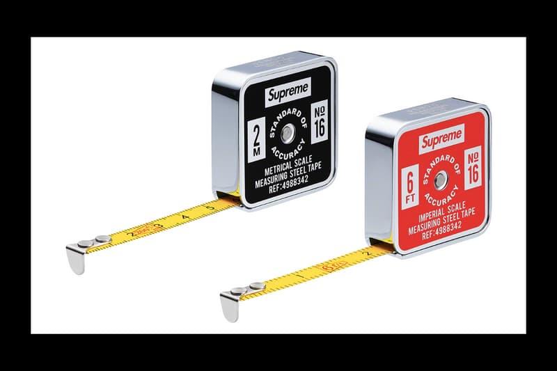 Supreme Spring/Summer 2019 Accessories Measuring Tape Penco