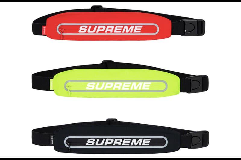 e13cd0eb3be4cf Supreme Spring/Summer 2019 Accessories Running Waist Bag