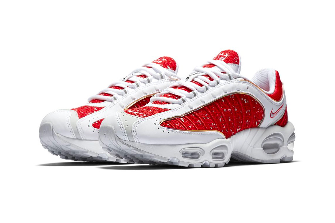 promo code 64562 6866a Supreme x Nike Air Max Tailwind IV 4 Official Look | HYPEBEAST