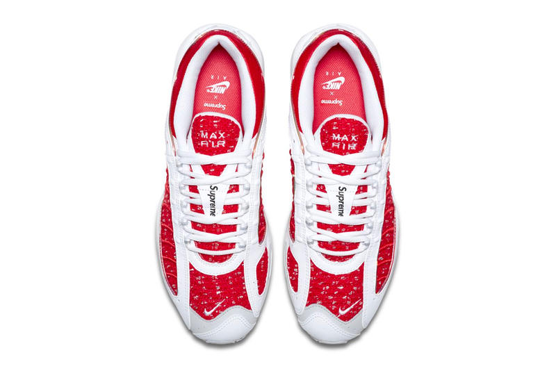 Supreme x Nike Air Max Tailwind IV 4 Official Look