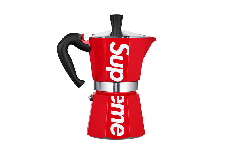 Supreme Spring/Summer 2019 Accessories Red Moka Pot