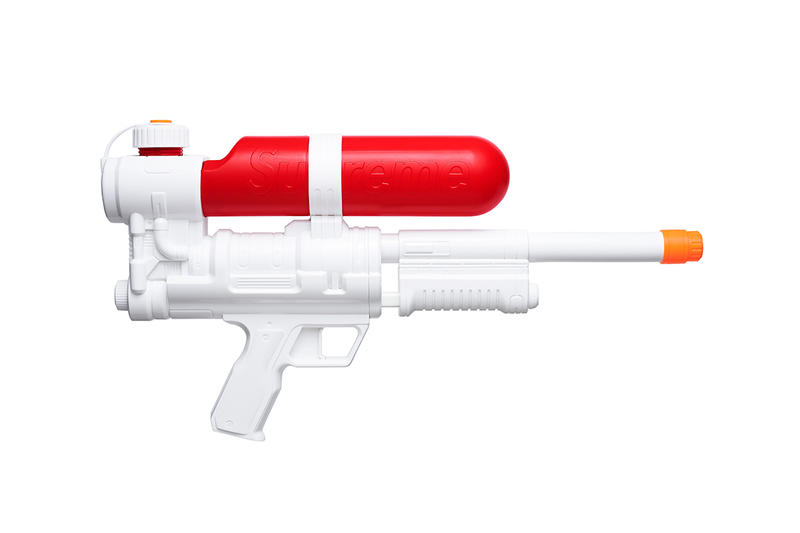 Supreme Spring/Summer 2019 Accessories White/Red Super Soaker Water Pistol Gun