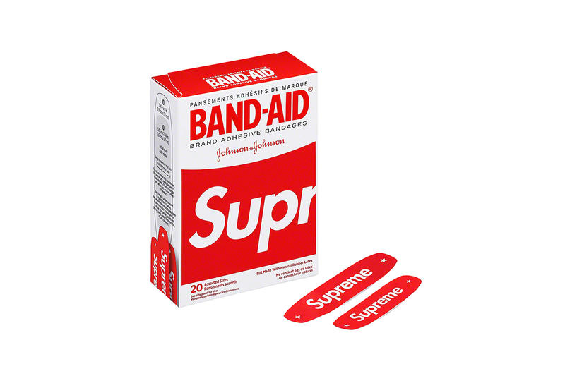 Supreme Spring/Summer 2019 Accessories Red Band-Aids