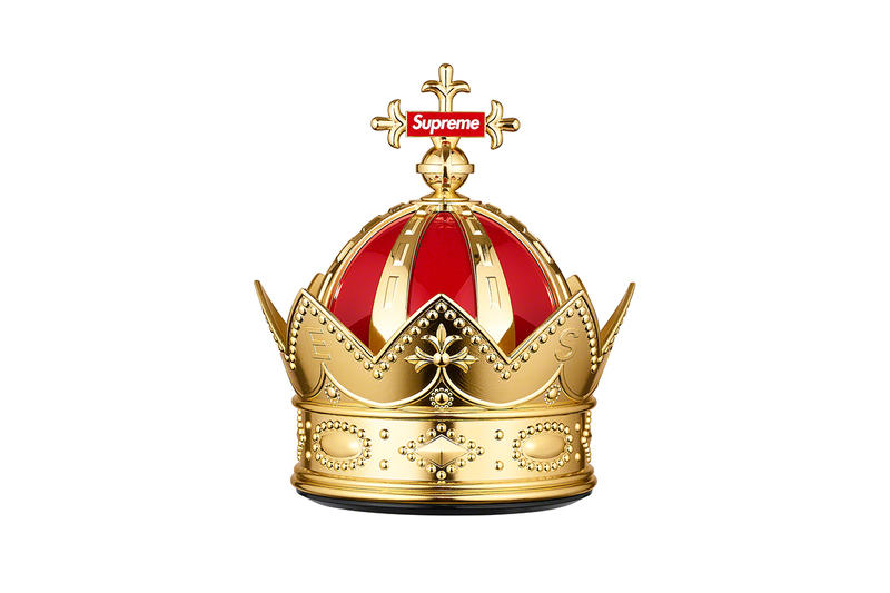 Supreme Spring/Summer 2019 Accessories Gold Crown