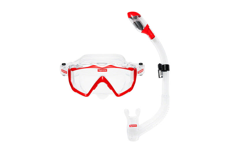 Supreme Spring/Summer 2019 Accessories Goggles and Snorkel Set