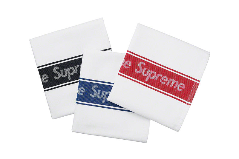 Supreme Spring/Summer 2019 Accessories Logo Cloth