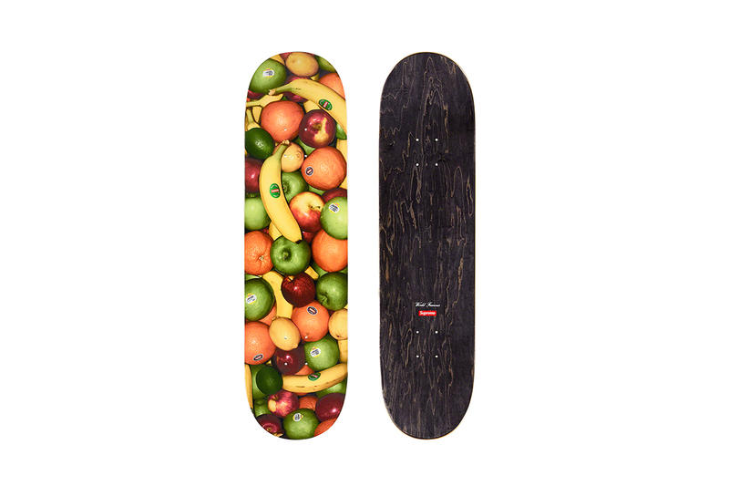 Supreme Spring/Summer 2019 Accessories Fruits Skate Deck