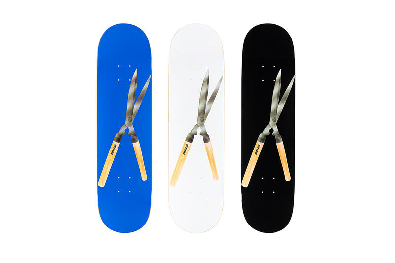 Supreme Spring/Summer 2019 Accessories Shears Skate Deck