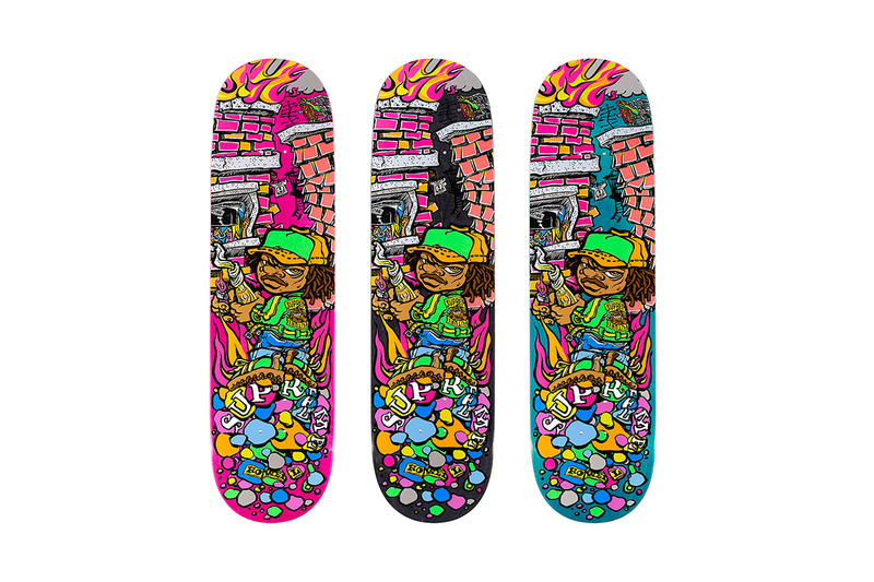 Supreme Spring/Summer 2019 Accessories Graffiti Skate Deck