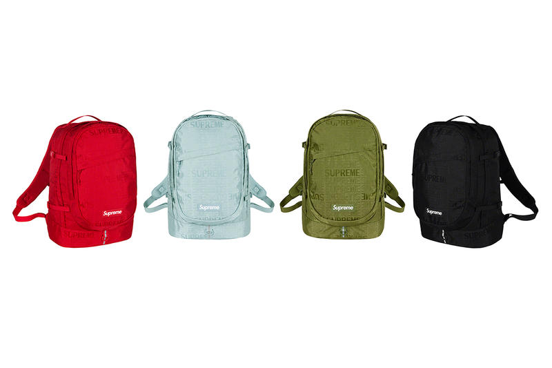 Supreme Spring/Summer 2019 Accessories Tonal Monogram Backpacks