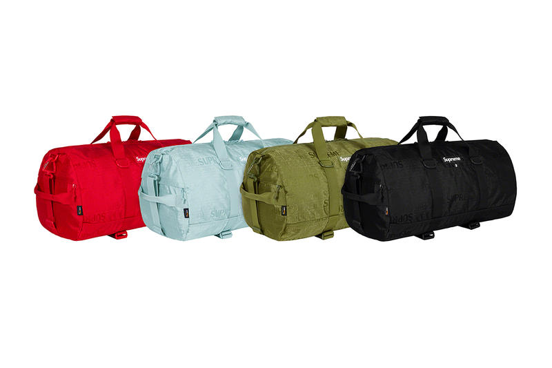 Supreme Spring/Summer 2019 Accessories Tonal Monogram Duffel Bags