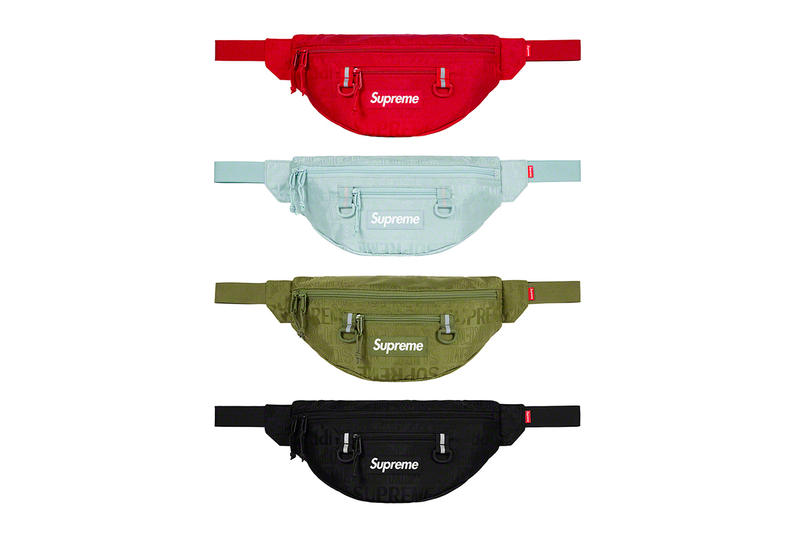 Supreme Spring/Summer 2019 Accessories Tonal Monogram Bum Bags