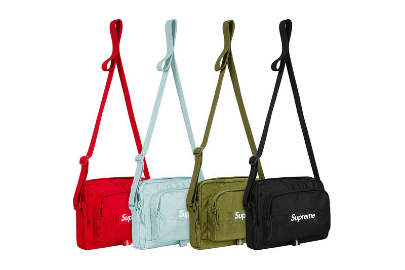 Supreme Spring/Summer 2019 Accessories Tonal Monogram Pouches