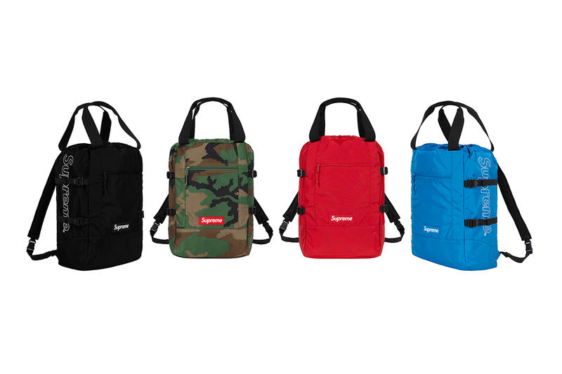Supreme Spring/Summer 2019 Accessories Carry Backpacks
