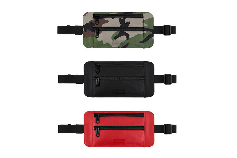 Supreme Spring/Summer 2019 Accessories Cash Pouches