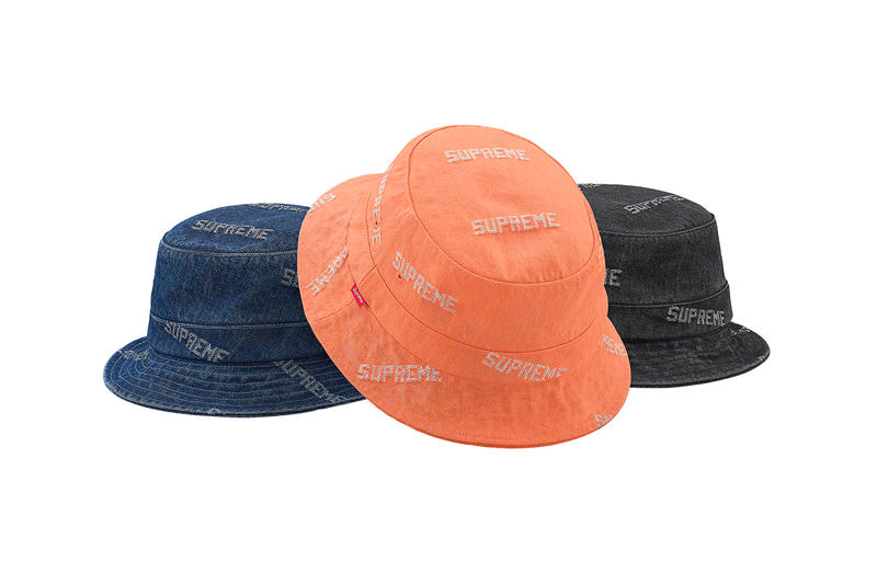 2921347ab7f1f7 Supreme Spring/Summer 2019 Hats Caps Bucket Hats Ol' Dirty Bastard Denim  Pinstripes