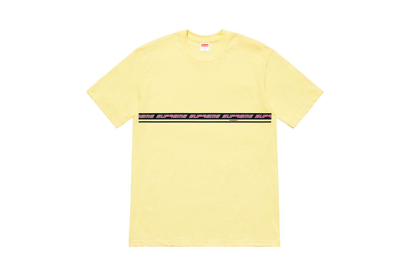 9b189595f2d2 Supreme 2019 Spring Summer Tees Collection