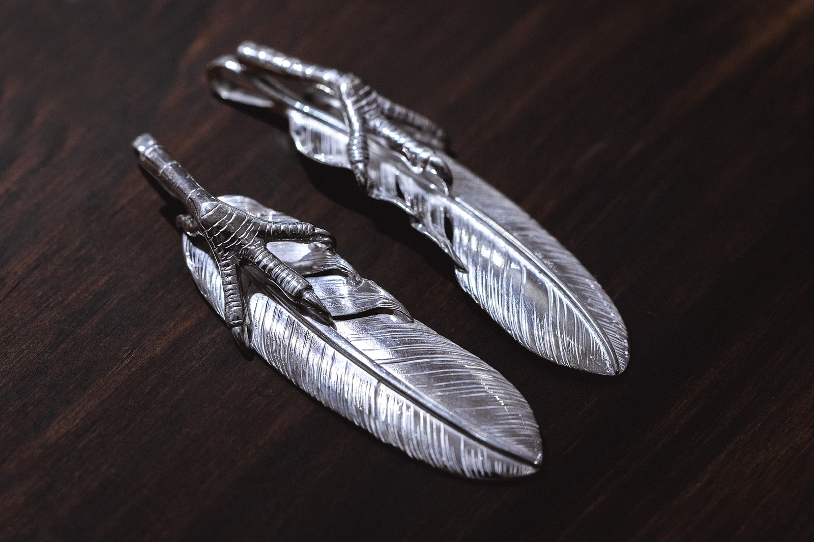 Taro Washimi Native American Silver Jewelry 925 feathers goro's wings claws indian native american jewelry accessories rings bracelets necklaces pendants tokyo Hong Kong Vinavast