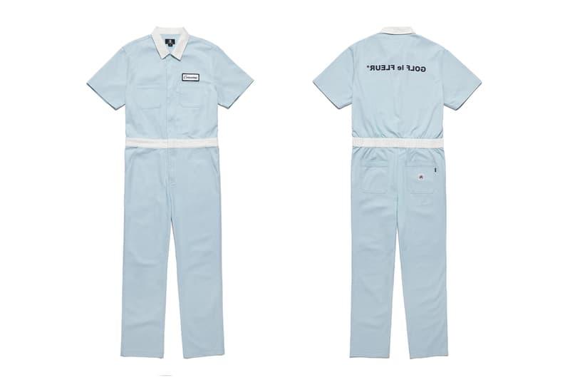 Converse GOLF le FLEUR* Industrial Jumpsuits Release Info Date white egret blue