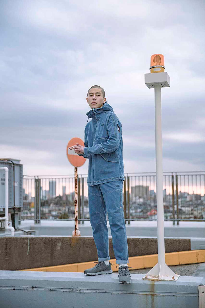 The North Face Urban exploration spring 2019 tech denim pack capsule collection drop release date info march coolmax