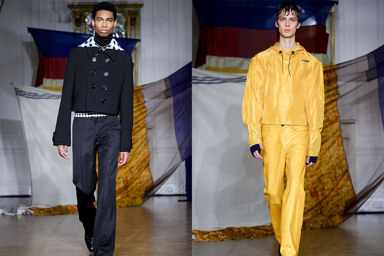 Menswear Designers London Fashion Week Fall/Winter 2019 Zilver Wales Bonner University of Westminster Graduate Collection