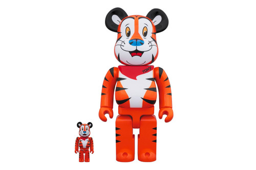 Tony the Tiger Immortalized in New BE@RBRICK Figure