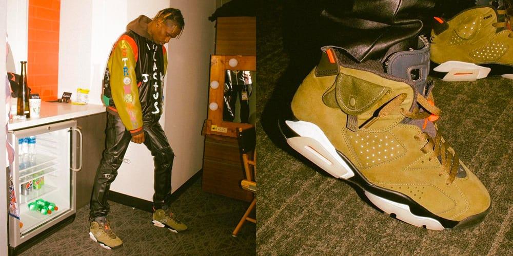 Travis Scott x Air Jordan 6 Cactus Jack