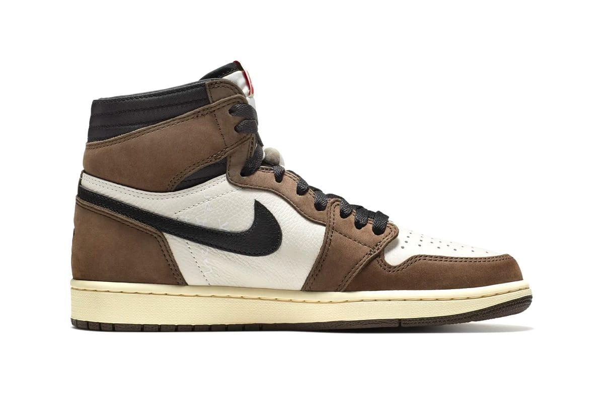 Travis Scott x Jordan 1 Nike SNKRS