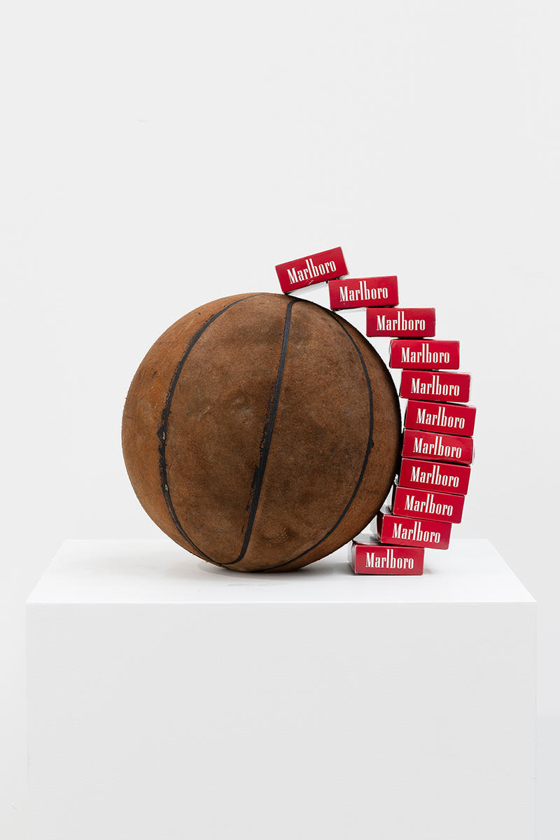 Tyrrell Winston Lines Exhibition Paris La Cite New York City Human Existance Neighborhood Lines Basketball Art