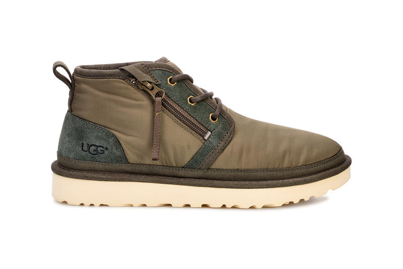 UGG MLT Military Footwear Capsule Collection japan release date info buy sale web store sneaker chunky boot parachute army fabric green slip on cali neumel zip tasman low 805 x colorway february 13 2019