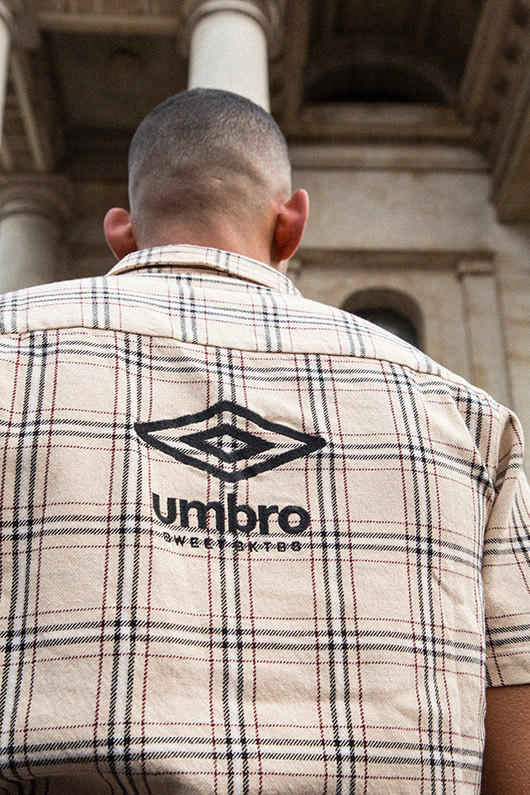 SWEET SKTBS x Umbro's Spring/Summer 2019 lookbook collection