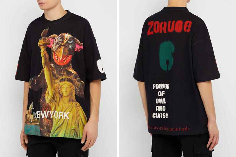 UNDERCOVER Spring Summer 2019 Kaiju T Shirt Tokyo Paris Release Price Jun Takahashi Ultraman