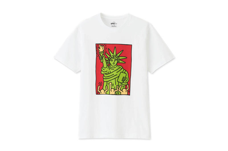 Uniqlo Continues to Pay Homage to Contemporary Artists With New SPRZ NY T-Shirts pocket jean michel basquiat keith haring andy warhol eames sol lewitt price images drop date release apparel info